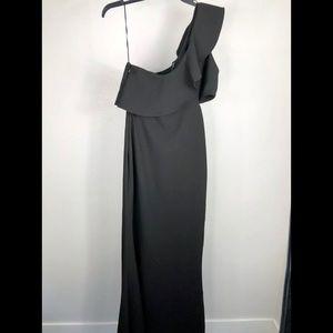 Likely Dresses - Likely Jillian Ruffled One Shoulder Evening Dress
